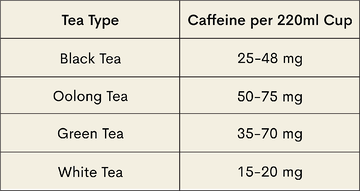 Which Tea Has the Most Caffeine?