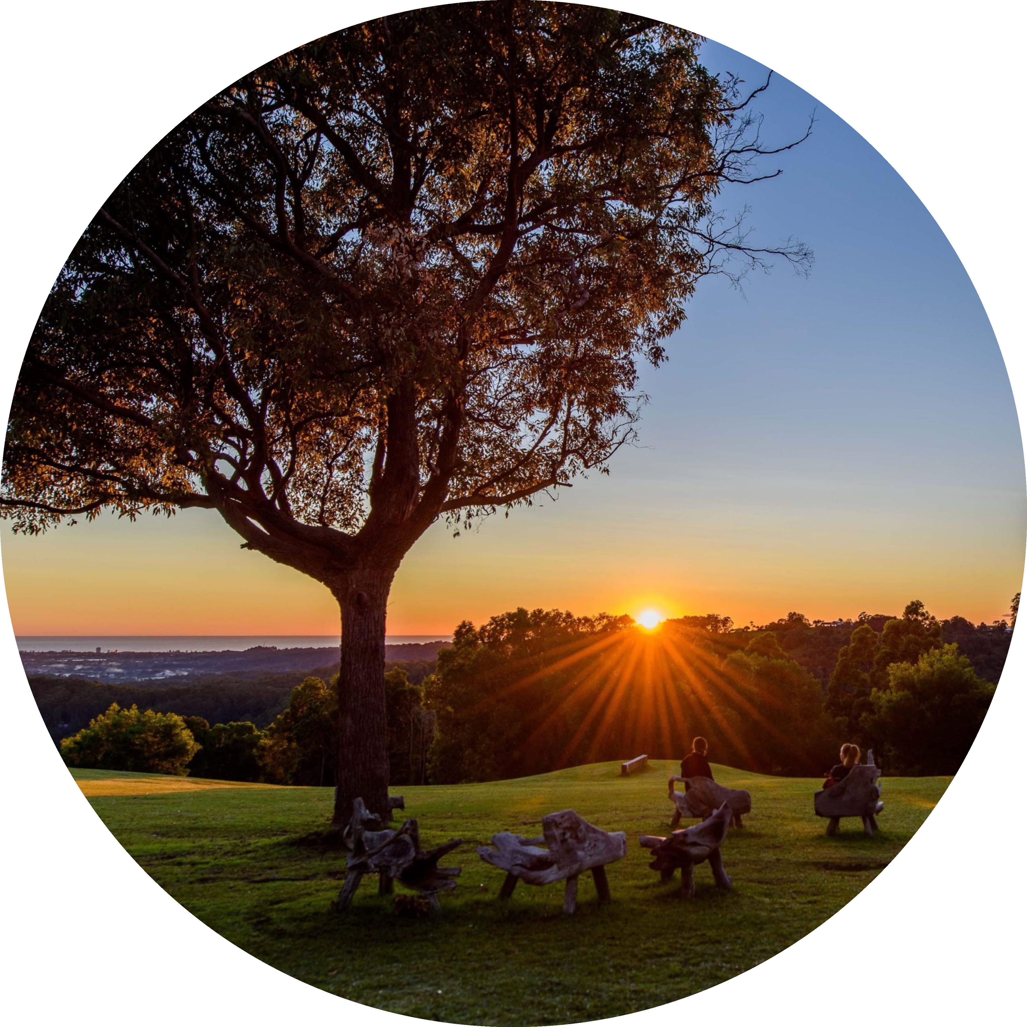 Gwinganna Lifestyle Retreat - Sunrise view